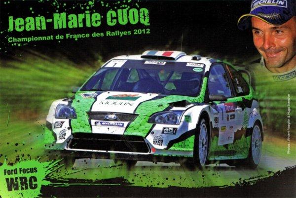 FORD FOCUS WRC - JEAN-MARIE CUOQ