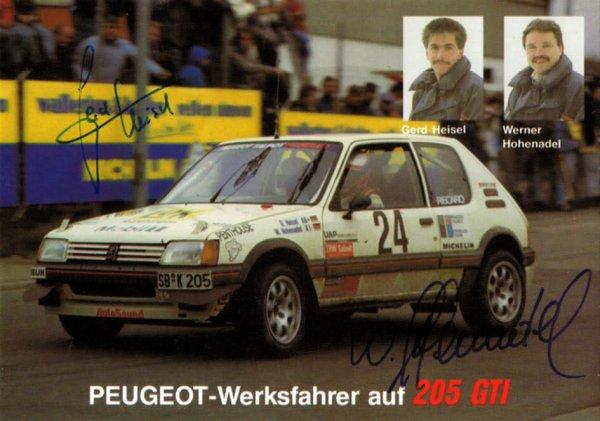 PEUGEOT 205 GTI - GERD HEISEL