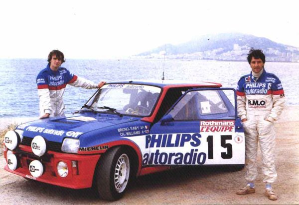 RENAULT 5 TURBO - BRUNO SABY