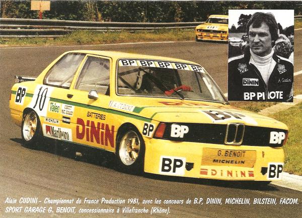 BMW 320 - ALAIN CUDINI