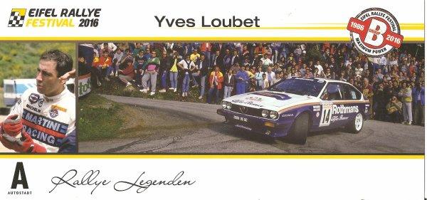 ALFA-ROMEO GTV6 - YVES LOUBET