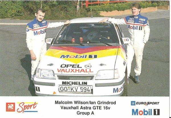 VAUXHALL ASTRA GTE 16V - MALCOLM WILSON
