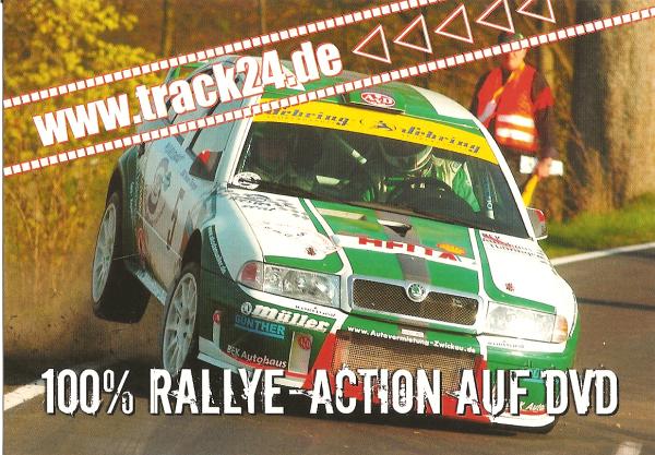 POUR ECHANGE - SKODA OCTAVIA WRC - 100% RALLYE ACTION