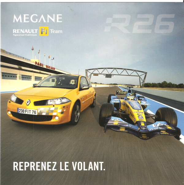 POUR ECHANGE - RENAULT-SPORT - MEGANE II / R26