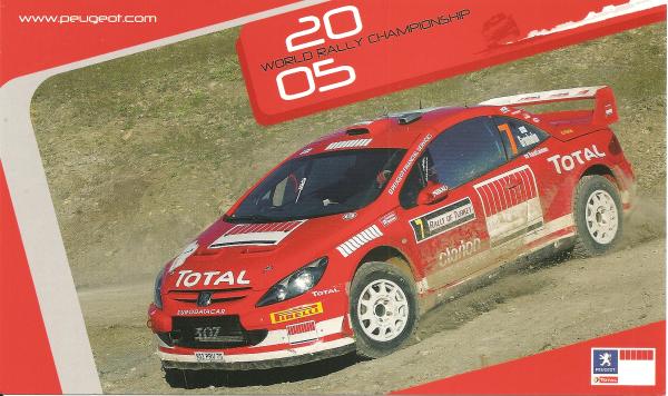 POUR ECHANGE - PEUGEOT 307 WRC - MARCUS GRONHOLM