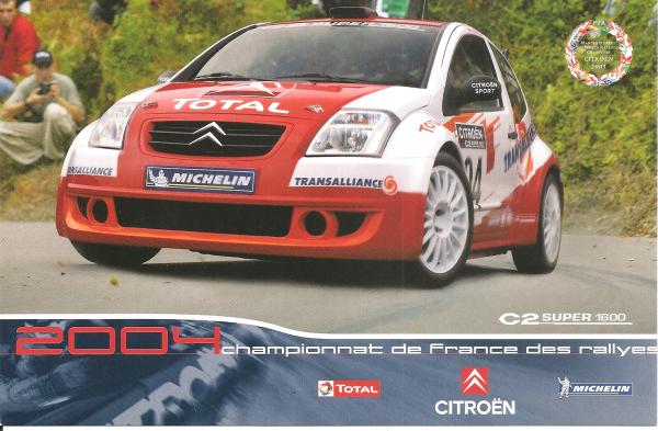 POUR ECHANGE - CITROEN C2 SUPER 1600 (2004)