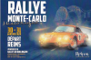 DEPART RALLYE MONTE-CARLO HISTORIQUE 2020 REIMS