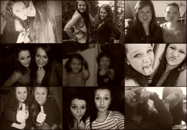 Une meilleure amie, c'est une soeur que la vie a oublié de vous donner♥.
