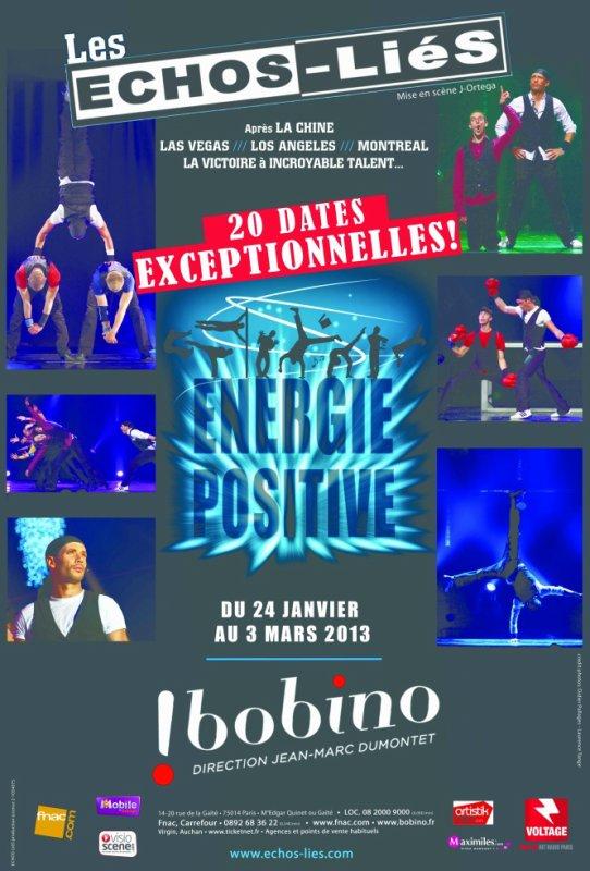 Les ECHOS-LiéS à BOBINO (Paris) Jusqu'au 3 Mars