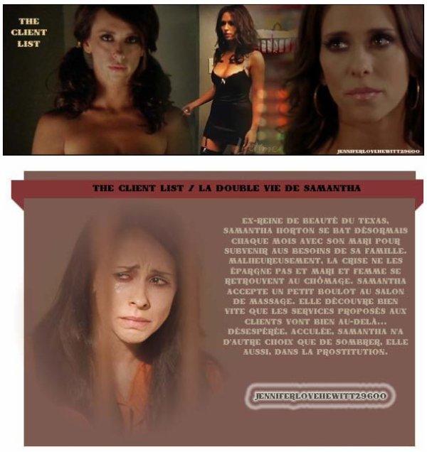 The Client List / La double vie de Samantha // Créas // Article //Source