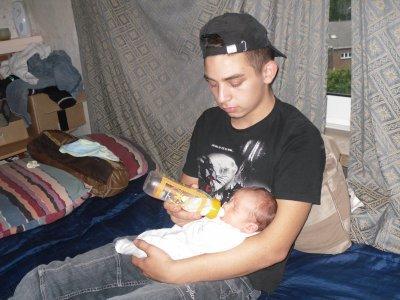 moi et Czain Aaron