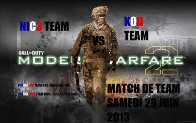 Match De Team Tres bientot 29/06/13
