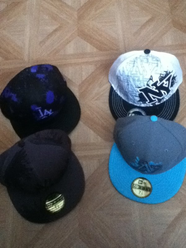 Mes casquettes