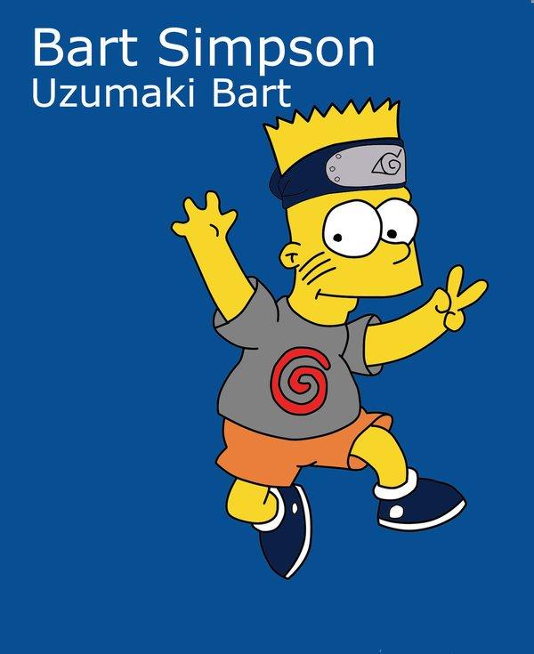 Bart version Naruto