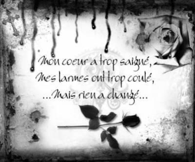 Poème Souffrance Ma Vie Dun Regard