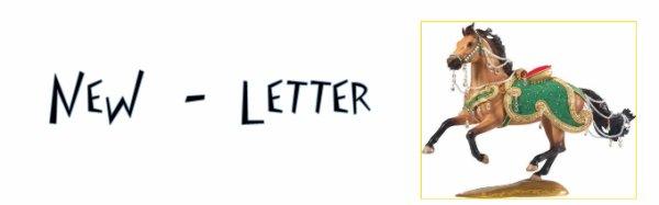 ♣ → New - Letter ← ♣