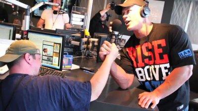John Cena Chez Preston & Steve 93.3 WMMR