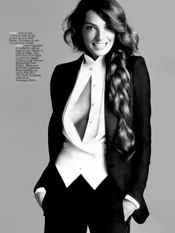 Daria Werbowy - Vogue Paris, février 04'