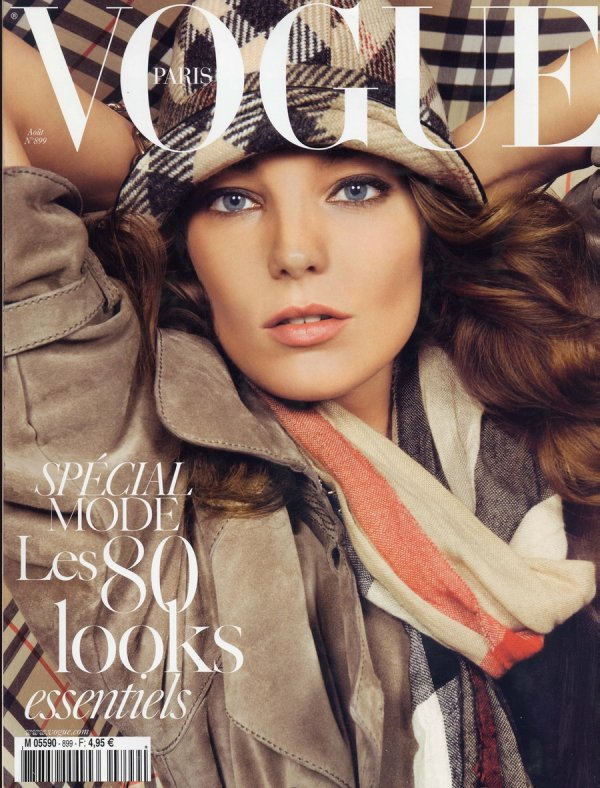 Daria Werbowy - Vogue Paris, août 09'