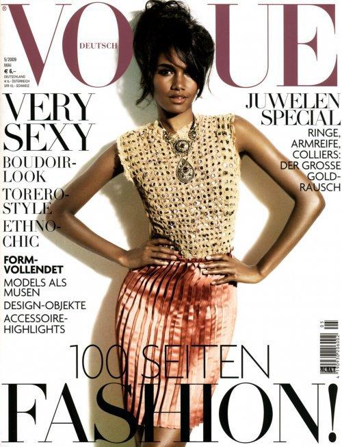 Arlenis Sosa - Vogue Allemagne, mai 09'