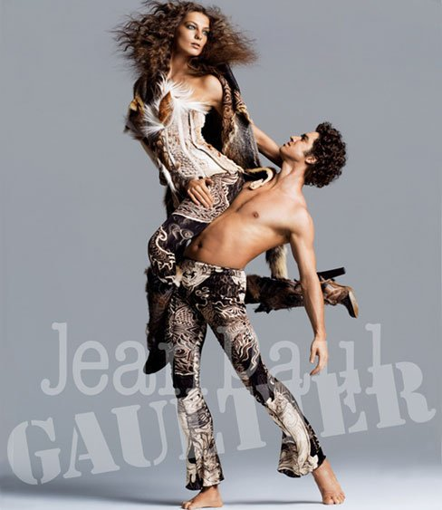 Daria Werbowy - Jean-Paul Gaultier