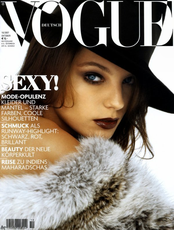 Daria Werbowy - Vogue Allemagne, octobre 07'