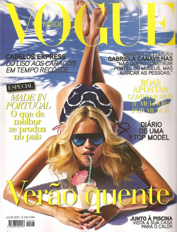 Natasha Poly - Vogue Portugal, juillet 10'