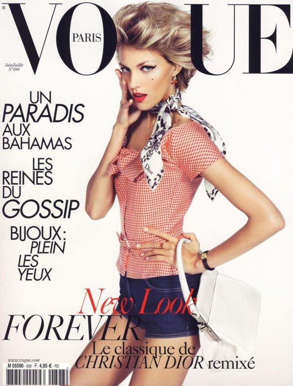 Anja Rubik - Vogue Paris, juin/juillet 10'