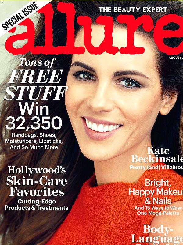 """. Kate a réalisé un superbe Photoshoot pour le magazine """"Allure"""" du mois d'Août dont elle fait la couverture  ."""