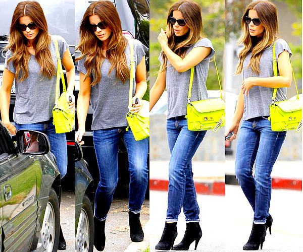 . Le 07/06 : Kate a été aperçu tandis qu'elle regagnait sa voiture après s'être promené dans Los Angeles .