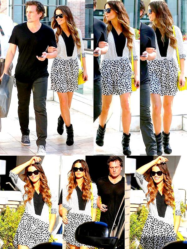 . Le 07/09 : Dans l'après-midi, Kate et son mari Len sont allés faire du shopping en amoureux à Beverly Hills .