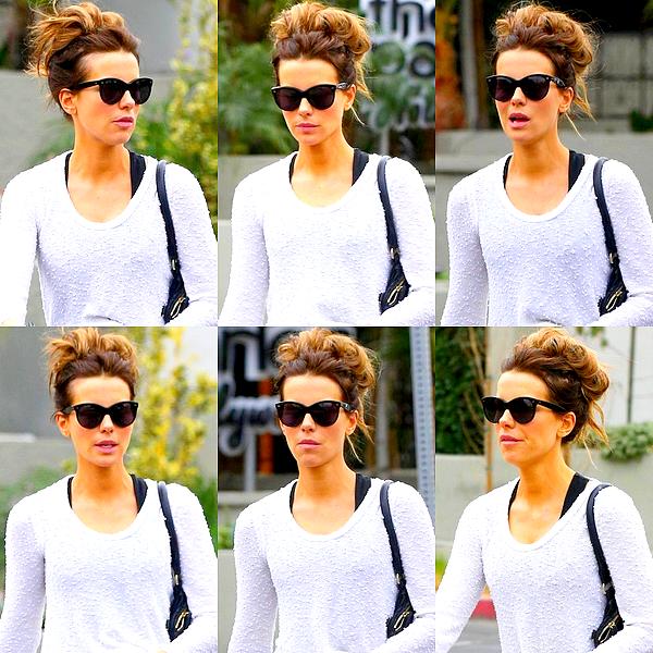 . Le 21/01 : Kate a été aperçu se promenant en compagnie d'une amie dans les rues de West Hollywood.