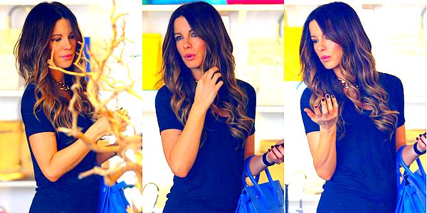 . Le 23/02 : Kate et Len sont allés faire un peu de shopping tous les deux, dans leur quartier de Santa Monica.
