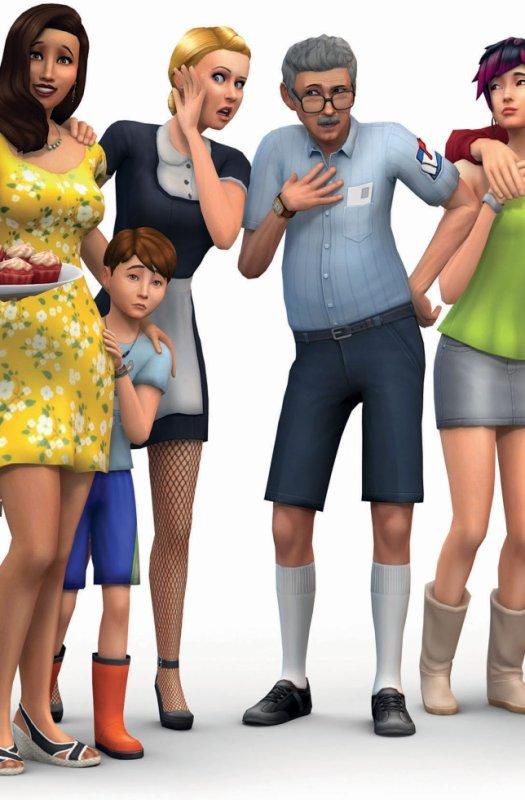 Les Sims 4 enfants!!!*happy*
