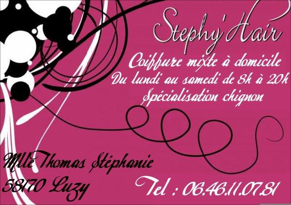 stephy' hair