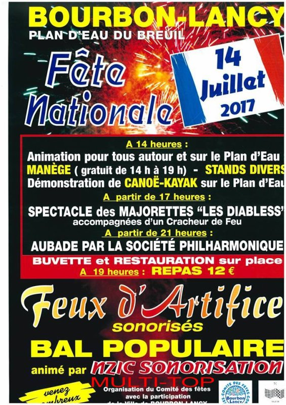 fetes national ville de bourbon lancy 71140