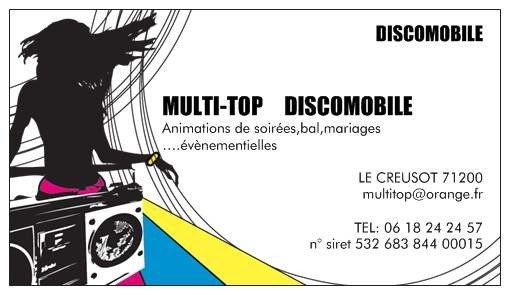 MULTI-TOP L'AUTRE REGARD DISCOMOBILE EN SAONE ET LOIRE