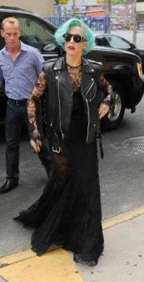 Gaga dans les rues de New York