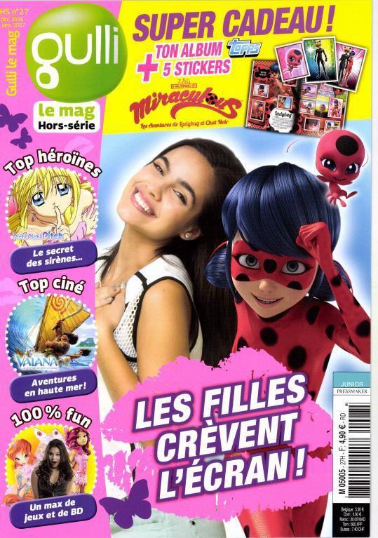 nouvelle couverture de magazine pour la série Franky en France