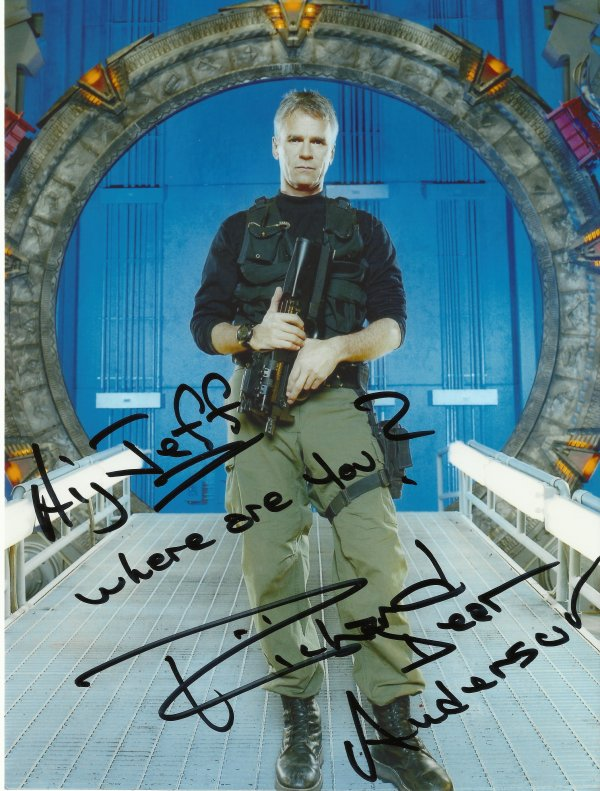 SPECIAL STARGATE : RICHARD DEAN ANDERSON