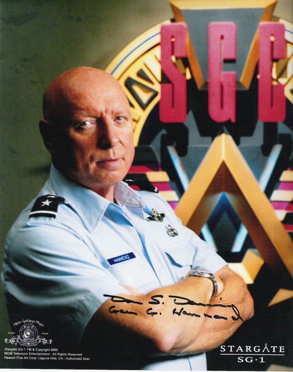 SPECIAL STARGATE : DON S. DAVIS DANS LE ROLE DU GENERAL GEORGE HAMMOND