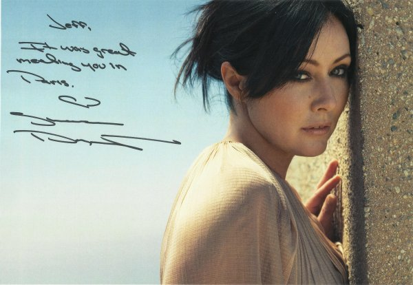Mes autographes de la série Charmed !