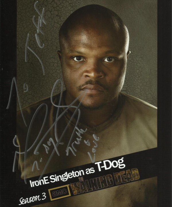 SPECIAL WALKING DEAD : IRONE SINGLETON