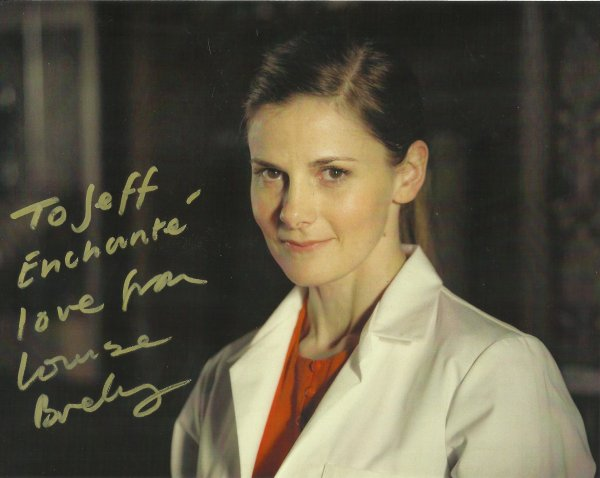LOUISE BREALEY.... SON FRANCAIS EST IMPECCABLE !