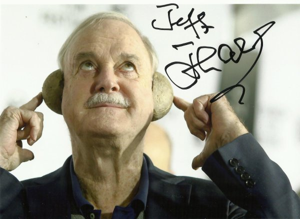 GOD SAVE THE QUEEN.... MR JOHN CLEESE !