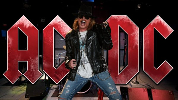 AXL ROSE COMME LEADER D'AC/DC.... HERESIE OU COUP GAGNANT ?