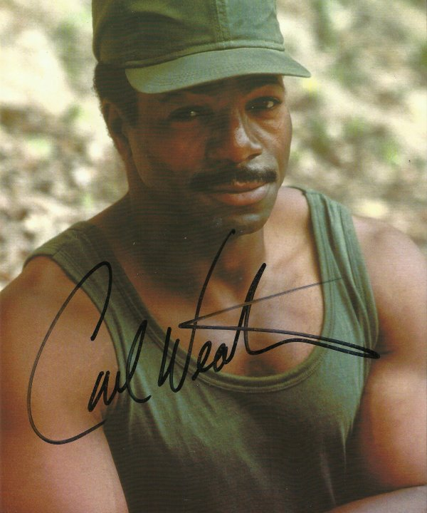 APOLLO CREED DANS ROCKY : CARL WEATHERS !