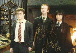 SPECIAL HARRY POTTER : Chris Rankin, Robbie Jarvis, Bonnie Wright, Evanna Lynch, Matthew Lewis, Tomothy Spall !!!