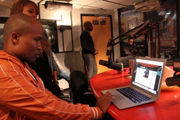 TinyChat en live du studio de Skyrock