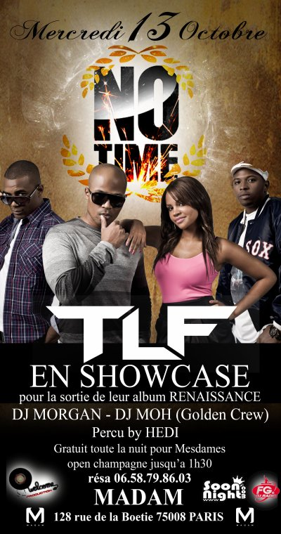 SHOWCASE DE TLF AU MADAM